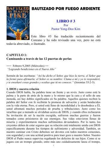 BAUTIZADO POR FUEGO ARDIENTE - Divine Revelations