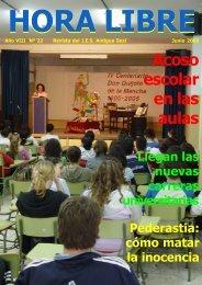 Junio de 2005 (nº 22) - IES Antigua Sexi