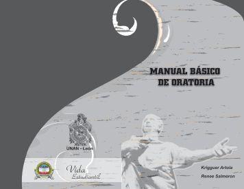 Manual de Oratoria - Concurso de Oratoria 2010, UNAN-León