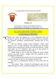 EL ESTAR IDENTIFICADO CONSIGO MISMO - ACEGAP