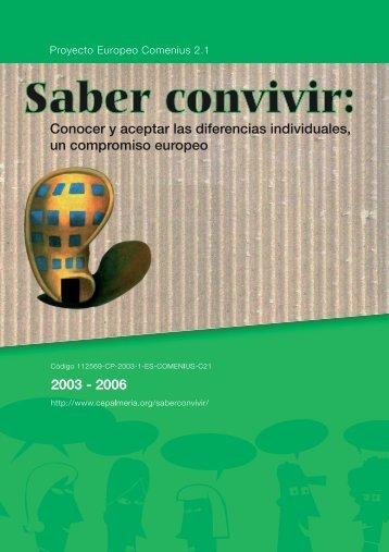 SABER CONVIVIR correcto.indb - CEP de Almería