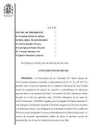 A U T O EXCMO. SR. PRESIDENTE / D. Fernando Zubiri de Salinas ...