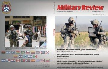 Ahora que nos vamos de Irak - US Army Combined Arms Center ...