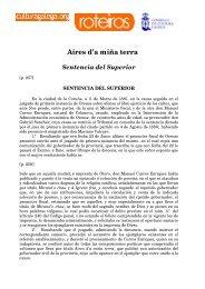 Aires d'a miña terra Sentencia del Superior - Culturagalega.org