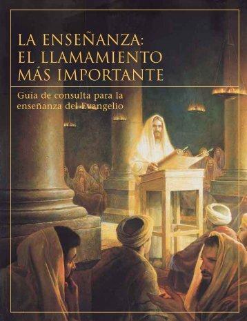 LA ENSEÑANZA: EL LLAMAMIENTO MÁS IMPORTANTE