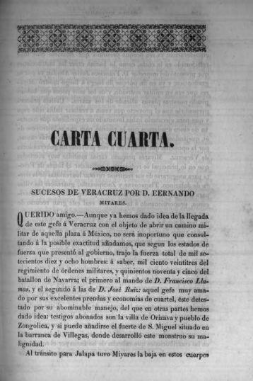 CARTA CUARTA, - Bicentenario