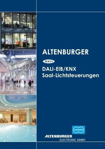 DALI-EIB/KNX Saal-Lichtsteuerungen - Altenburger Electronic GmbH