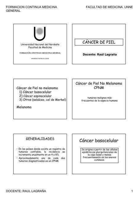 cancer de piel basocelular pdf