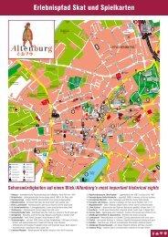Erlebnispfad Skat und Spielkarten - Altenburg Tourismus
