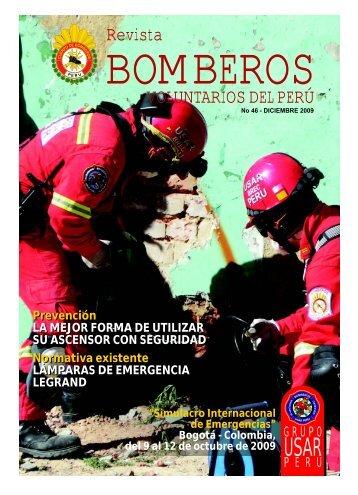 REVISTA BOMBEROS diciembre 2009 - Cuerpo General de ...