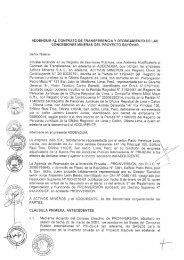 ADDENDUM AL CONTRATO DE TRANSFERENCIA ... - Proinversión