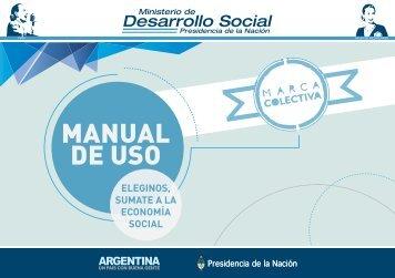 Marca Colectiva (Manual de uso) - Ministerio de Desarrollo Social