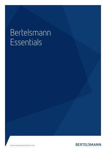 Bertelsmann Essentials