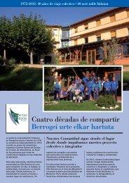 Compartir - 40 Años - (Folleto en Pdf) - Fundación Traperos de ...