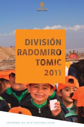 Reportes de Sustentabilidad 2011 Radomiro Tomic - Codelco