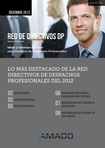 Conozca lo Más Destacado de la RDDP del 2012 - Red de ...