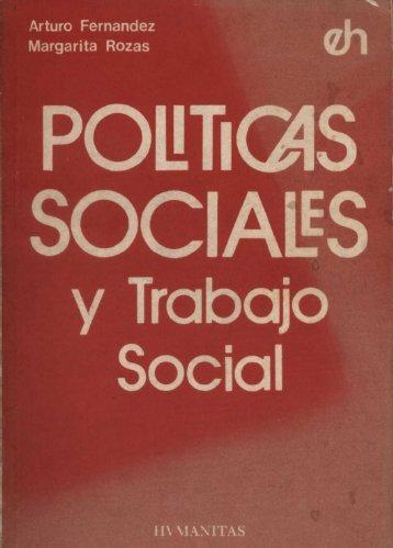 Políticas Sociales y Trabajo Social. - Regreso a la página principal