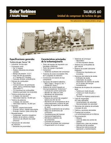 Taurus 60 Conjunto compresor impulsado por turbina de gas (375kb)