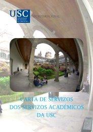 Carta de Servizos - Universidade de Santiago de Compostela