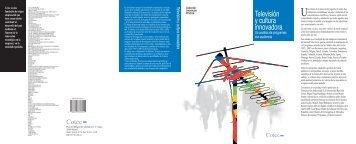 Televisión y cultura innovadora - OEI