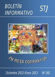 BOLETÍN INFORMATIVO - Compañía de Santa Teresa de Jesús