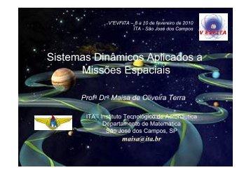 Sistemas Dinâmicos Aplicados a Missões Espaciais - evfita