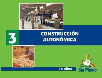 CONSTRUCCIÓN AUTONÓMICA - Movimiento Sin Miedo