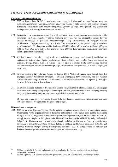 Tarybos metinis pranešimas Europos Parlamentui dėl ... - Europa