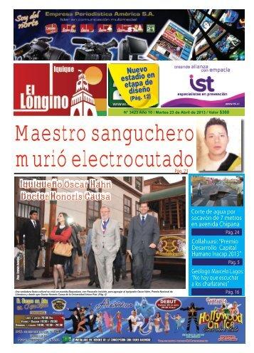 Descargar Longino de Iquique en PDF - Diario 21