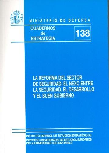 LA REFORMA DEL SECTOR DE SEGURIDAD: EL NEXO ... - IEEE