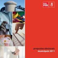 propostas electorais municipais 2011 - PSdeG-PSOE