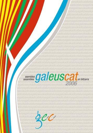 Declaració Galeuscat - CiU