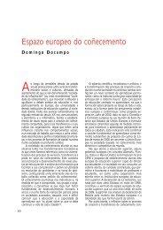 Espazo europeo do coñecemento - Editorial Galaxia