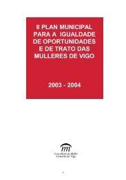 II PLAN MUNICIPAL PARA A IGUALDADE DE ... - Concello de Vigo
