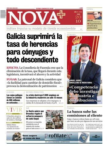 Galicia suprimirá la tasa de herencias para cónyuges y todo ...