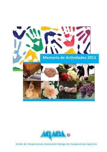 MEMORIA DE ACTIVIDADES 2011 - agaca