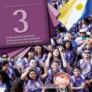 El Movimiento feminista internacional como propulsor ... - Mundubat