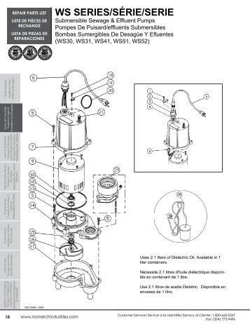 WS SERIES/SÉRIE/SERIE - Depco Pump Company