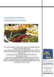 Sonnenküste Dalmatien – Kulinarische DeLuxe-Reise - Reise Treff ...