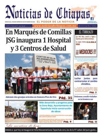 En Marqués de Comillas JSG inaugura 1 Hospital y 3 Centros de ...