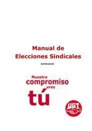 Manual de Elecciones Sindicales - UGT