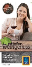 Das Weinsortiment inkl. aller Top-Aktionen!