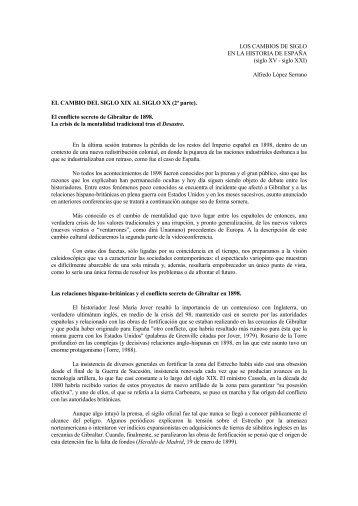 El cambio del siglo XIX al siglo XX - Archivo Abierto Institucional de ...