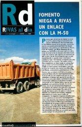 Rivas Al Día nº 12 Marzo 2003 - Ayuntamiento Rivas Vaciamadrid