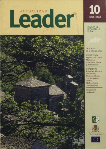 Actualidad LEADER - Ministerio de Agricultura, Alimentación y ...