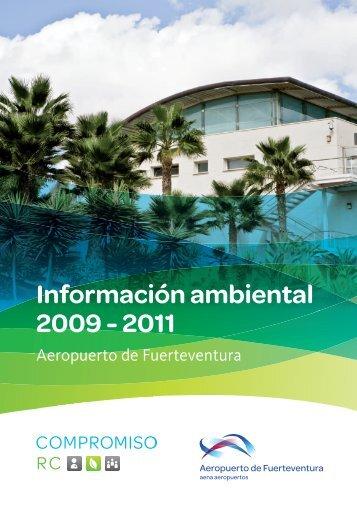 Informe de Gestión Ambiental 2009-2011 (PDF ... - Aena Aeropuertos