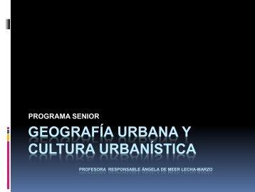 1. Evolución urbanística. Los cascos históricos