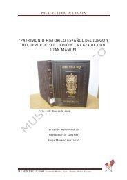 DON JUAN MANUEL. EL LIBRO DE LA CAZA - Museo del Juego