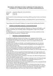 protokoll der ordentlichen jahreshauptversammlung am freitag, 13 ...