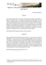 Felipe Augusto Ribeiro - XVIII Encontro Regional (ANPUH-MG)